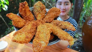 Download Tasty Crispy Chicken Chest Cooking - Yummy Chicken Chest Recipe - Cooking With Sros Video