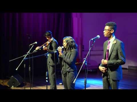 Larissa Chris Sam Jonathan - Dartford Grammar School Talent Show 2016
