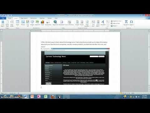 Merge Documents In Microsoft Office Word 2010
