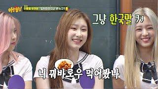 "Download 엉터리 중국어(?) 구사하는 채령(Chaeryeong) ""니 꿔바로우→ 먹어봤나?↗"" 아는 형님(Knowing bros) 188회 Video"