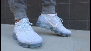 Nike Vapormax Flyknit On Foot