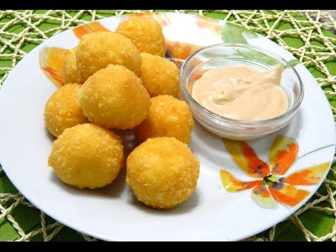 Bolitas de Queso (Fried Cheese Balls)