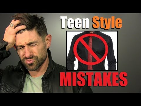 10 BIGGEST Style Mistakes MOST Young Men Make!