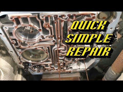 Ford F-150 4R70E 4R75E Transmissions Loss of 4th Gear Overdrive: The Most Common Cause and Fix