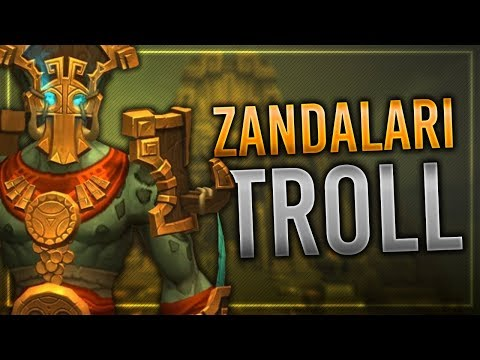 Zandalari Troll   Heritage Armor, Customization, Race Mount, Druid Forms & Shaman Totems!