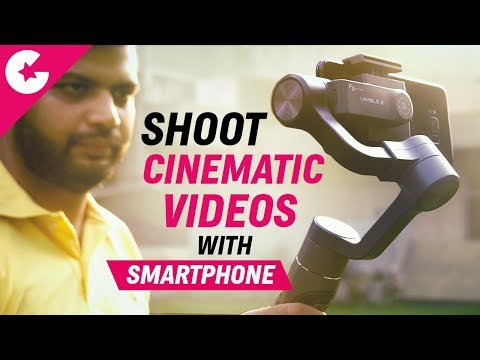 Shoot Cinematic Videos With Smartphone -  Feiyutech Vimble 2 Review!