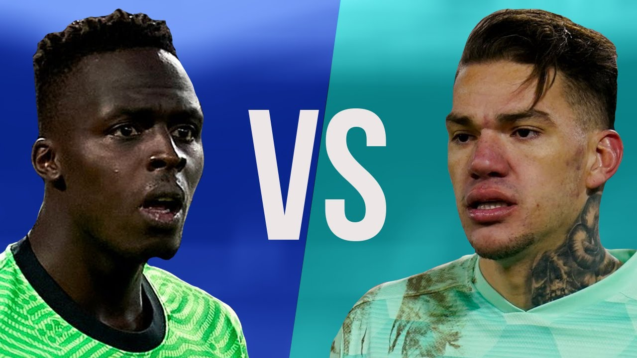 Edouard Mendy VS Ederson - Who Is The Best Goalkeeper? - Crazy Saves Show - 2021