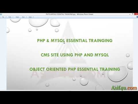CMS Site using php and mysql Bangla 01 Introduction