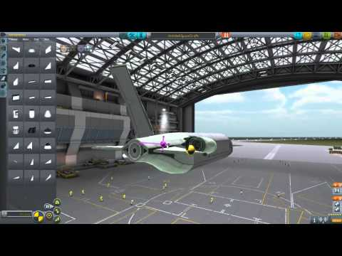 KSP  - Ubiquitech Heavy Cargo Plane