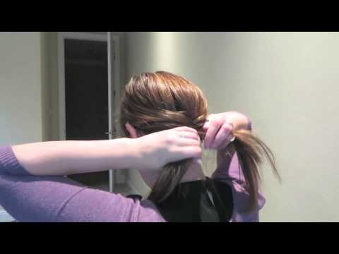 Basic Fishtail Braid For Layered Or Shorter Hair