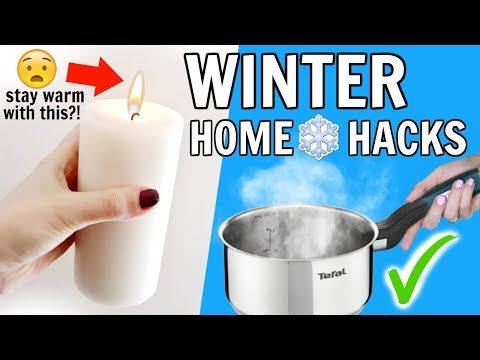 Winter Home Hacks Everyone Should Know