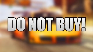 DO NOT BUY THIS NEW CAR IN GTA 5 ONLINE!