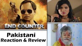 End Counter Trailer | Pakistani React | Hindi Movie | Prashant Narayanan | Mrinmai Kolwalkar
