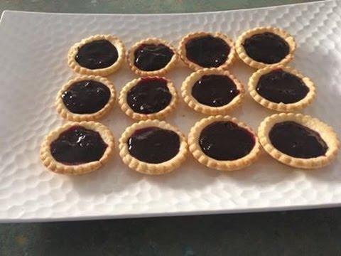 Blueberry Jam  Tart