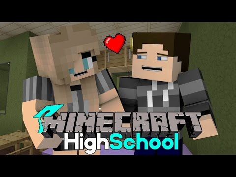 Girlfriend Sleepover | Minecraft HighSchool [S1: Ep.5 Minecraft Roleplay Adventure