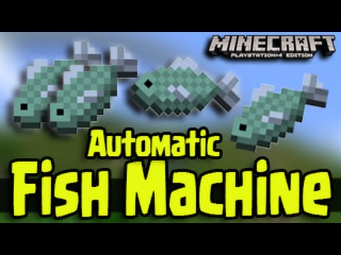 Minecraft PS3, PS4, Xbox, Wii U - Automatic Fishing Machine