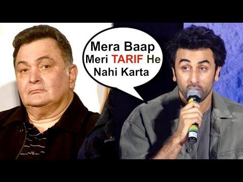 Ranbir Kapoor On Father Rishi Kapoor's REACTION On Sanju Movie Trailer