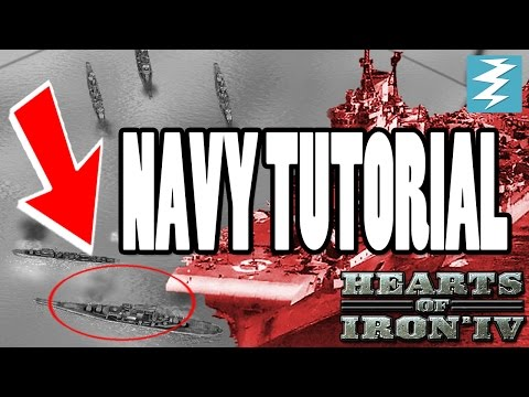 Indepth Navy Orders Composition Doctrines Tutorial - Hearts of Iron IV HOI4 Paradox Interactive
