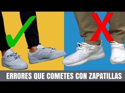 5 Errores Que Cometes Con Las Zapatillas de Deporte