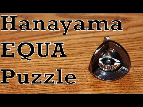 Hanayama Equa Puzzle (Full Solution)
