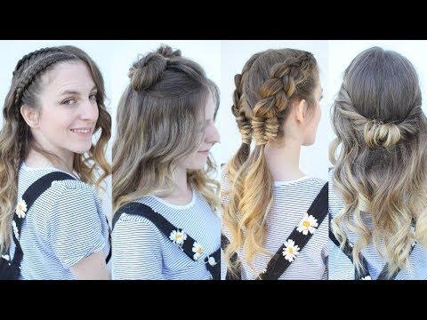 5 Summer Hairstyle Ideas  | Summer Hairstyles | Braidsandstyles12