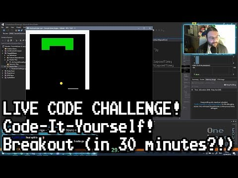 Code-It-Yourself Breakout in 30 minutes?