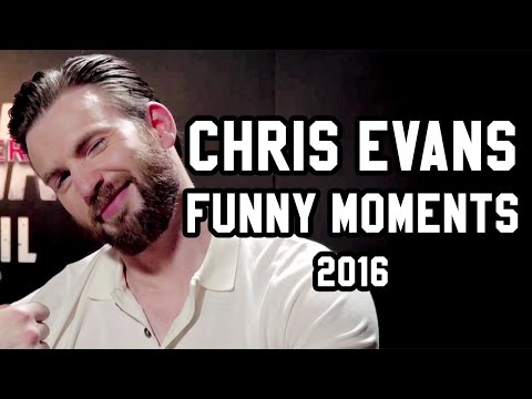 Chris Evans Funny Moments 2016