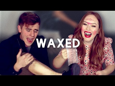 Ultimate Leg Waxing & Makeup Challenge
