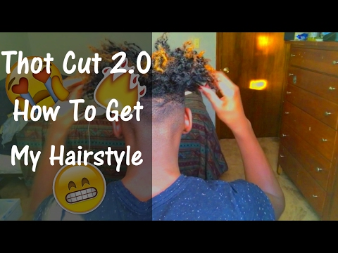 Curly Hair Routine 2017 || Thot Cut 2.0 || WeH8Ron