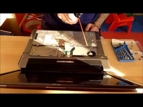 Full detail on how to replace the Keyboard and clean the CPU fan on an HP Compaq 6720s Laptop