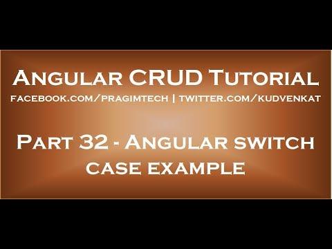 Angular switch case example