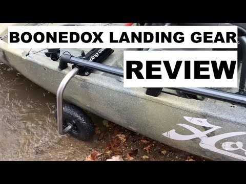 BOONEDOX LANDING GEAR REVIEW- in water!