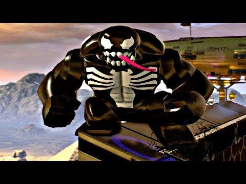 LEGO Marvel Super Heroes 2 - VENOM Free Roam Gameplay