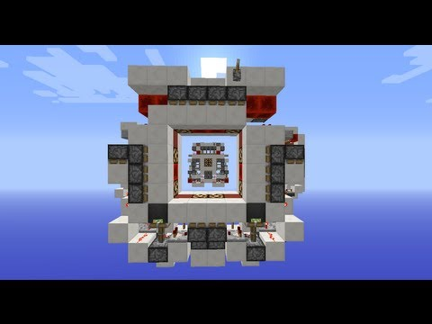 First Always On Double Sided 4x4 Lamp Vault Door: Compact & Reliable | Minecraft 1.6.4+