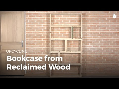 Make a Bookshelf from Reclaimed Wood | Upcycling