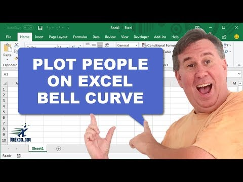 Learn Excel - Place People on Bell Curve - Podcast 2217