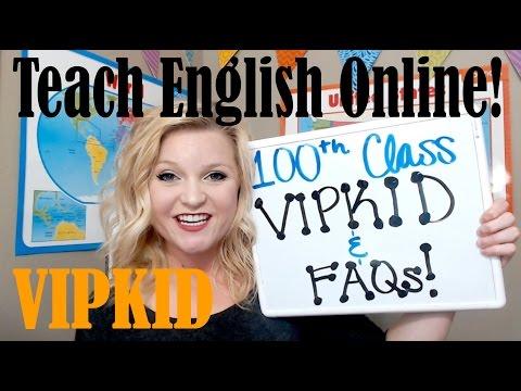 VIPKID FAQs / 100th Class / Teaching With VIPKID