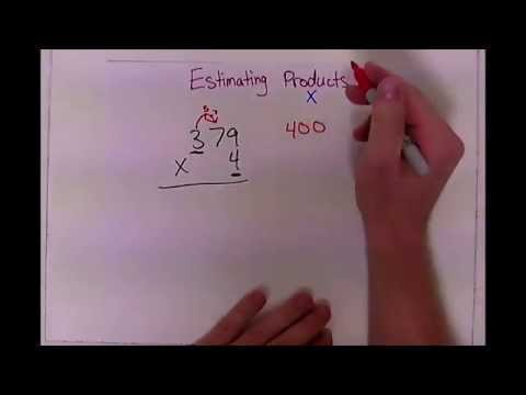 math - 2 minute drill - estimating products