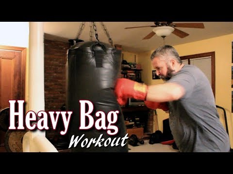 Heavy Bag Workout from Last Night
