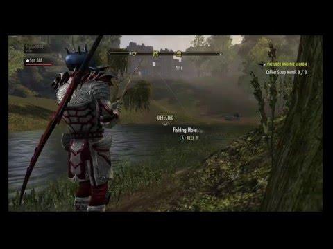 The Elder Scrolls Online: Fishing In A Rival Hood!