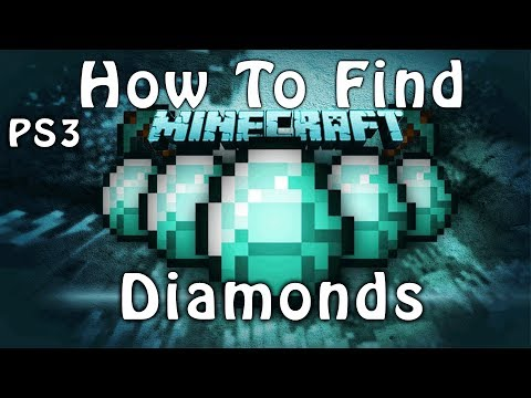 How To Find Diamonds In Minecraft PS3 Edition: FAST AND EASY WAY (HD VOICE TUTORIAL)