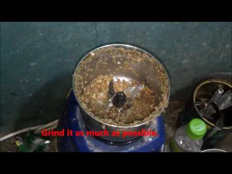Making Green coffee extract the easy way 9898