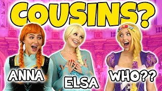 WHO IS ELSA AND ANNA'S COUSIN? (IS IT ARIEL, BELLE OR RAPUNZEL?) Totally TV Dress Up