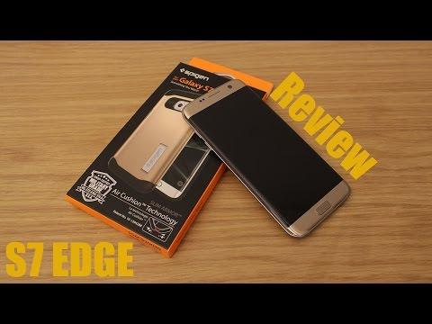 Spigen Slim Armor Case For Samsung Galaxy S7 Edge - Gold