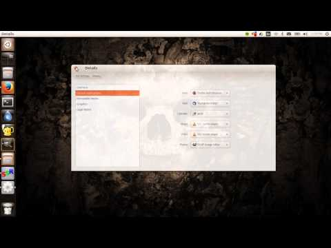 How To Change Default Program In Ubuntu 13.10