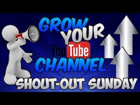 Shoutout Sunday Series Ep.9 ''Gain More Subscribers''!!