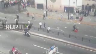 Venezuela: One dead in shooting at Caracas protest referendum