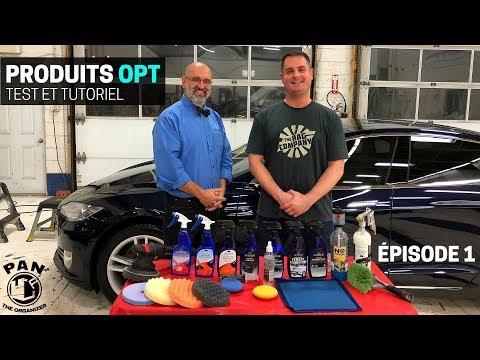 Produits d'esthétique de voitures OPTIMUM: test avec Yvan Lacroix (ÉPISODE 1)