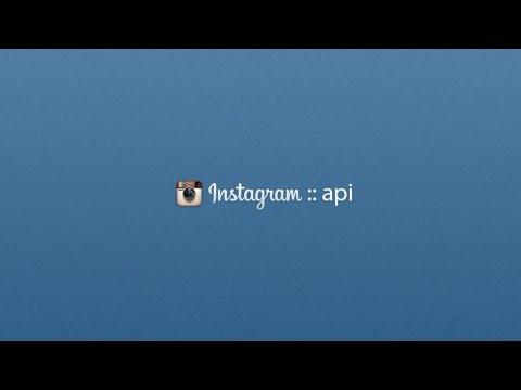 Tutoriel PHP : API Instagram