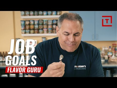Ben & Jerry's Ice Cream Flavor Creator || Job Goals
